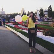 Anya Razumnaya on My World.